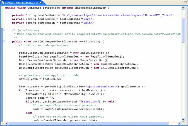 writing html code: